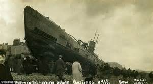 German U Boats Ww1 Definition by Haunting Pictures Show U Boat Washed Onto After Wwi