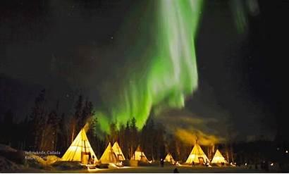 Aurora Northern Lights Borealis Stunning Canada Earth