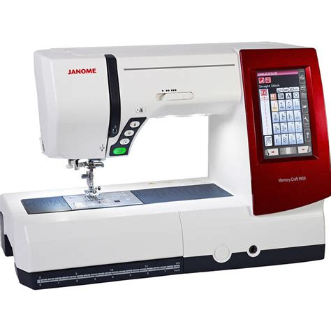 Janome All In One Sewing Machine Model Mc9900 Buy Sewing