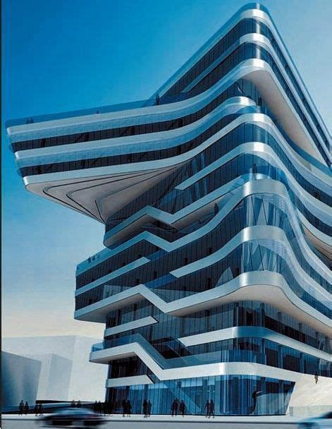 Spiral Tower by Zaha Hadid in Barcelona 12 Types of New
