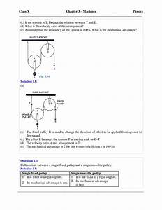 Selina Solutions Class 10 Concise Physics Chapter 3