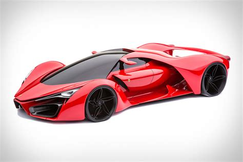 ferrari  concept harnesses  twin turbo hybrid