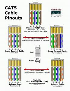 Home Network Cat5 Cable Wiring Diagram