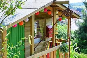 Kinder Holzhaus Garten : kinderspielhaus im garten tipps zur einrichtung dekoration ~ Frokenaadalensverden.com Haus und Dekorationen