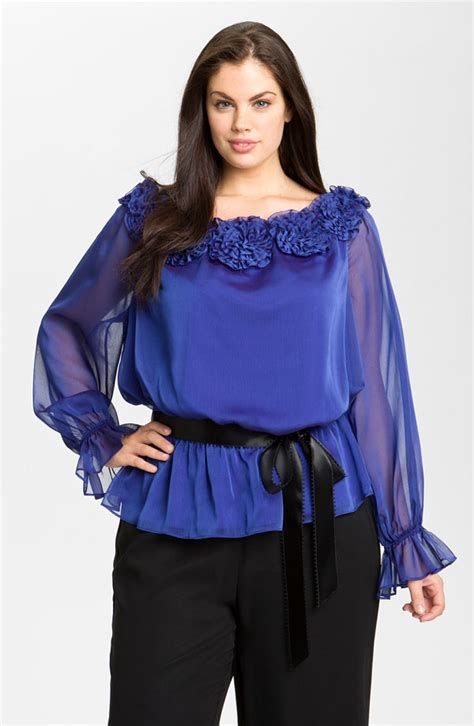 plus size silk blouses plus size satin blouses top page 4 of 6