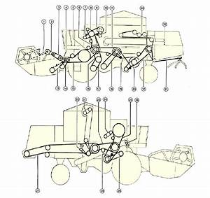 Combine Harvester Parts Diagram