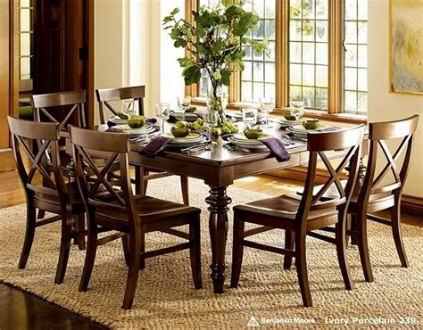 table and chairs pottery barn home decor inspiration