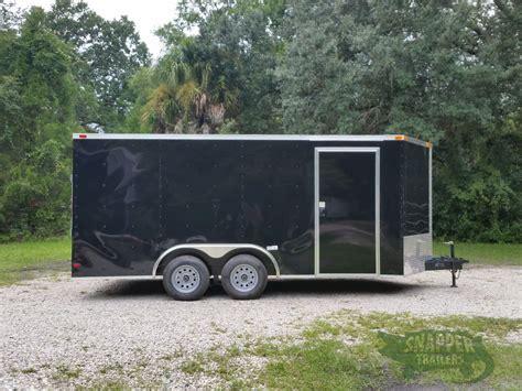 enclosed trailer r door conversion 8 5x16 ta trailer black r side door snapper trailers