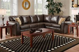 brown bentley bonded leather modern sectional sofa w options With bentley sectional leather sofa
