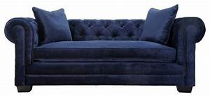 norwalk velvet tufted chesterfield sofa navy With navy blue tufted sectional sofa