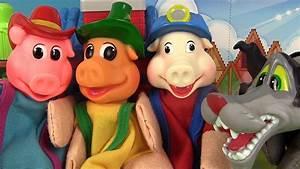 Youtube Les Trois Cochons : les trois petits cochons et le loup marionnettes 3 little ~ Zukunftsfamilie.com Idées de Décoration