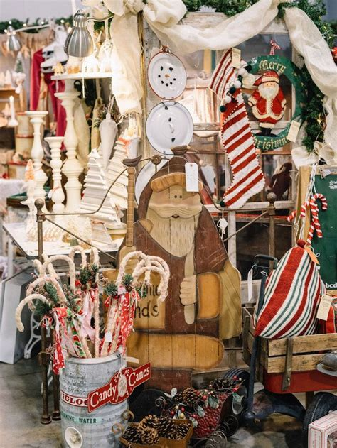 vintage whites blog  vintage christmas market recap