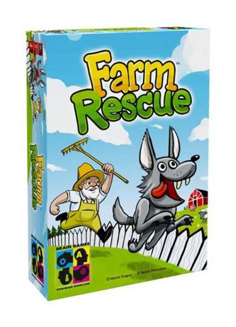 BRAIN GAMES. FARM RESCUE galda spēle no 4 gadiem. 0767 ...