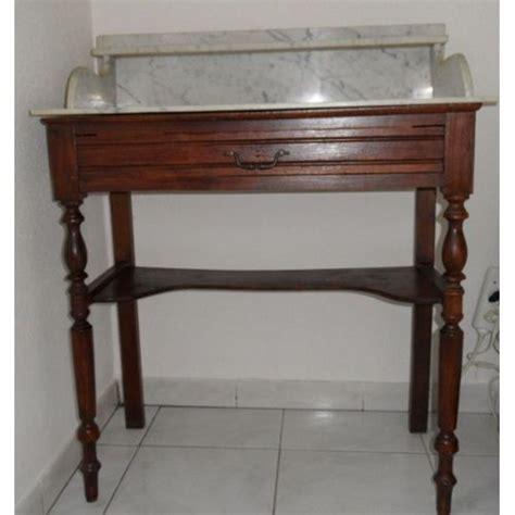 le de bureau ancienne coiffeuse ancienne en marbre blanc pas cher priceminister