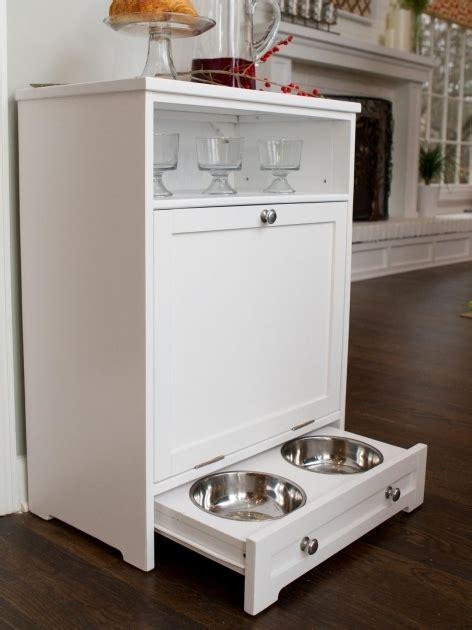 pet food cabinet pet food storage cabinet storage designs