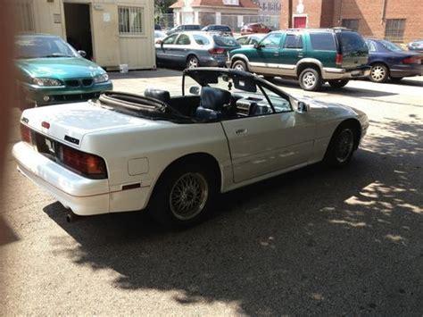 buy car manuals 1989 mazda rx 7 electronic valve timing buy used 1989 mazda rx 7 convertible project or parts runs drives in bensalem pennsylvania