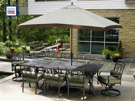 review la z boy outdoor aubree 10 pc dining set best