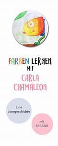 Beschäftigung Für Kleinkinder : farben lernen mit carla cham leon lerngeschichte printable pinterest kindergarten and craft ~ Whattoseeinmadrid.com Haus und Dekorationen