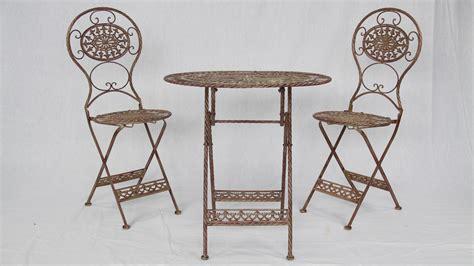 Tisch Mit Zwei Stühlen by Garten Set F 252 R Zwei Mit Tisch Und 2 St 252 Hlen
