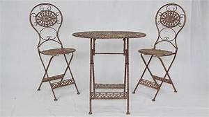 Tisch Mit 2 Stühlen : garten set f r zwei mit tisch und 2 st hlen ~ Indierocktalk.com Haus und Dekorationen