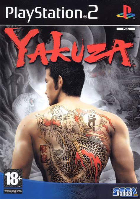 yakuza videojuego ps vandal