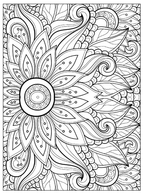 flowers     flowers kids coloring pages