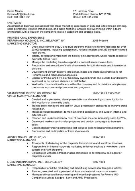 debra resume