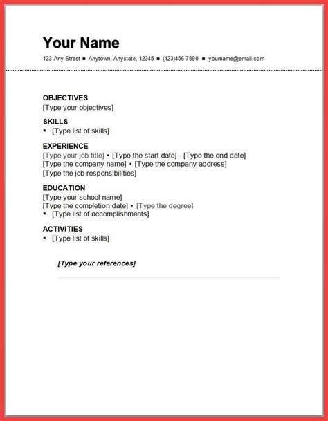 Resume For Employers by One Employer Resume Sle Memo Exle
