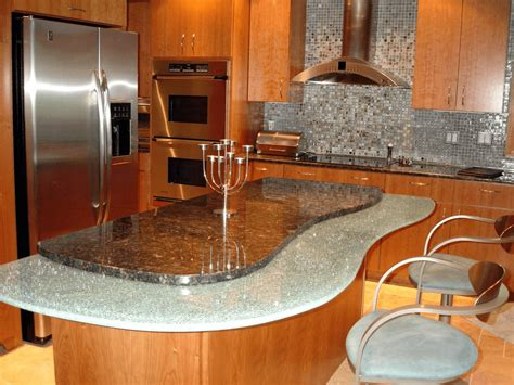 unique kitchen countertops consideration choosing kitchen countertop materials