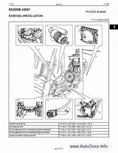 Toyota Forklift Workshop Service Manual Repair Manual