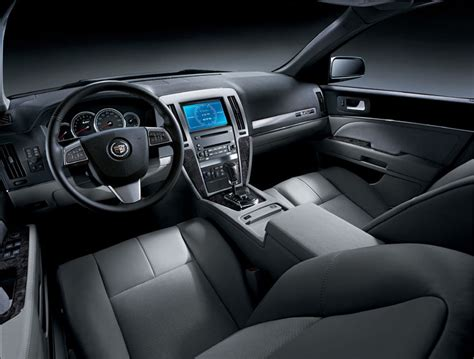 cadillac sts interior picture pic image
