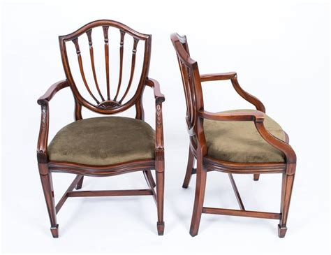 fabulous set 12 hepplewhite style dining chairs at