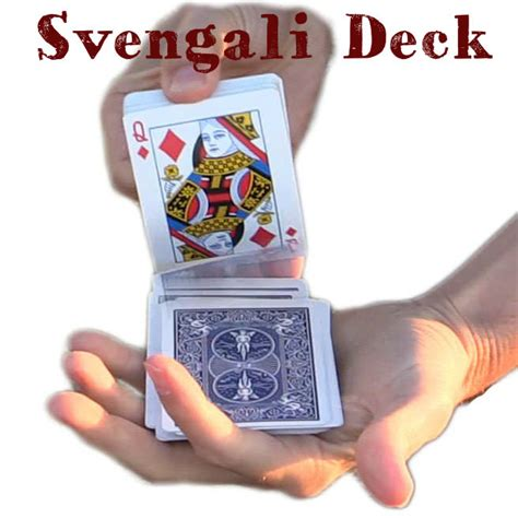svengali trick deck of cards pro quality bicycle deck
