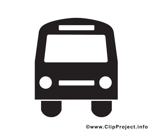 bus icon clipart