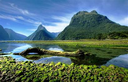 Zealand Landscape Nature Sound Park Milford National