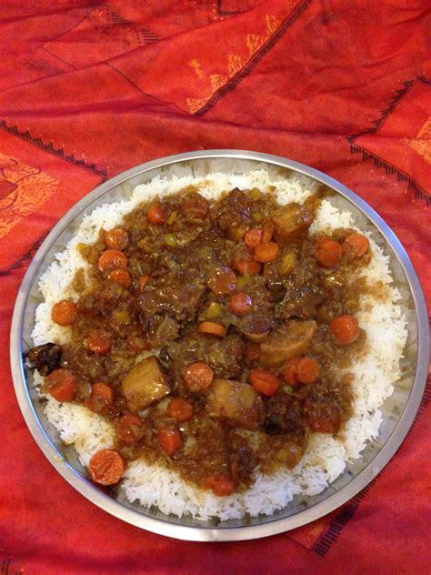 recette de cuisine senegalaise thiou curry riz blanc et sa sauce au curry lacuisinededaba