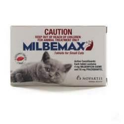 cat dewormer tapeworm milbemax cat wormer
