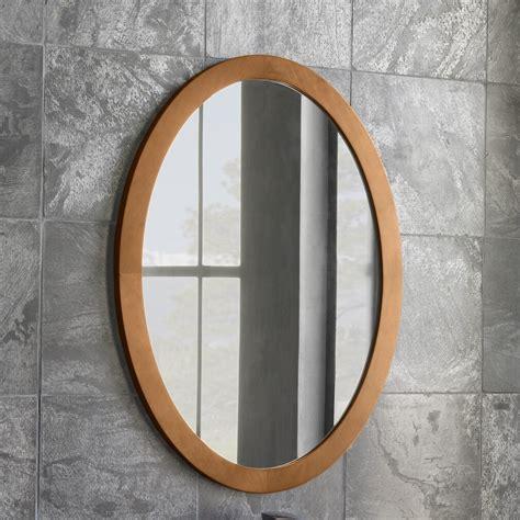 oval wall mirror wayfair