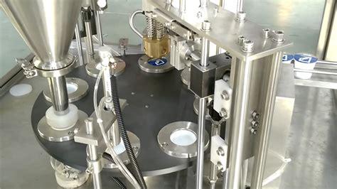 cup sealing machine coffee capsule filling sealing machine youtube