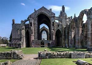 Melrose Abbey Scotland 2 Photograph by Paul Cannon