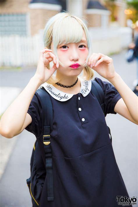cyer idol rinahamu  harajuku  dark romantic bubbles