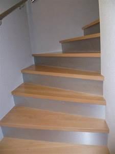 Habillage Escalier Bois : habillage d escalier beton gallery of maytop tiptop ~ Dode.kayakingforconservation.com Idées de Décoration