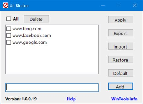 how to block websites on your windows 10 pc