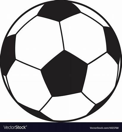 Ball Vector Football Soccer Pattern Vectorstock Vectors
