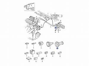 Jetta Mk1 Genuine Vw Engine Wiring Loom Harness Grommet 33