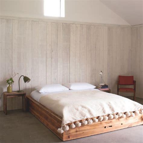 chambre en lambris déco lambris maison
