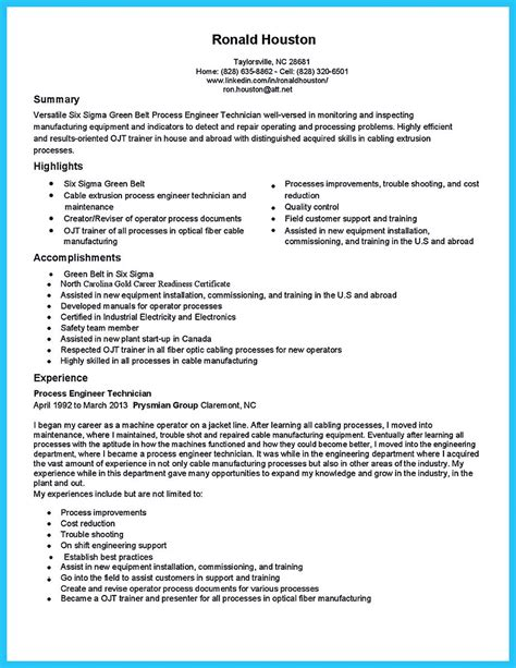 Resume Highlight Exles by Are You Trying To Make The Best Cable Technician Resume