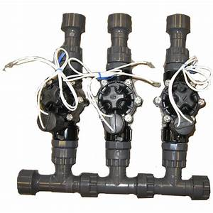 1 U0026quot  3 Valve Manifold Setup For Irrigation System