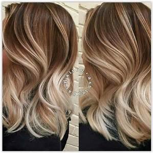 Ombre Hair Blond Polaire : 24 photos absolument magnifiques de coloration tortoiseshell trend zone ~ Nature-et-papiers.com Idées de Décoration