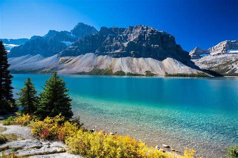 Bow Lake Alberta Wallpaper Nature And Landscape